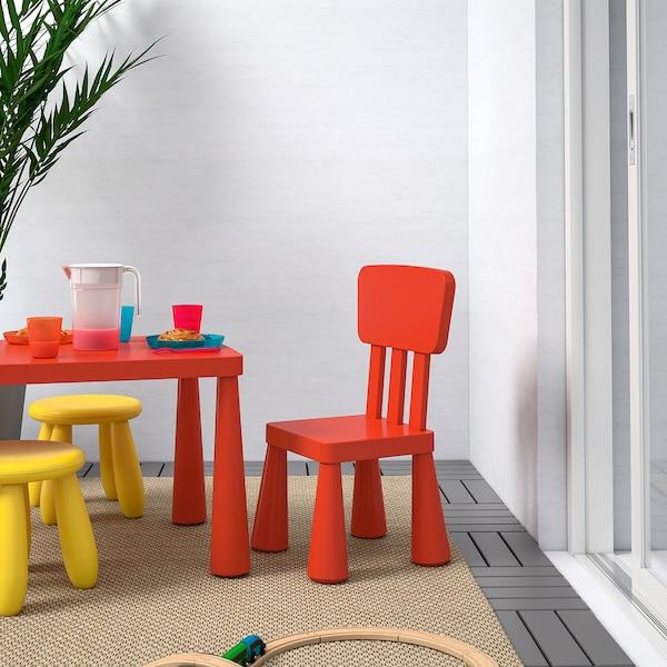 MAMMUT Children's chair, in/outdoor/red