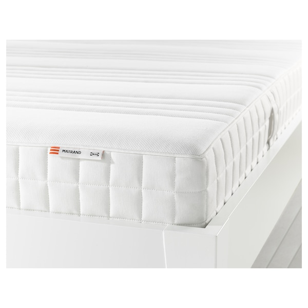 MATRAND memory foam mattress firm/white 200 cm 160 cm 18 cm