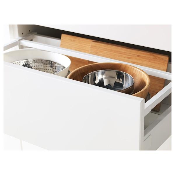 MAXIMERA Drawer, medium, white, 60x37 cm