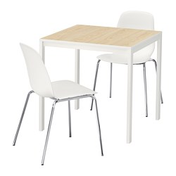 MELLTORP /  LEIFARNE Table and 2 chairs