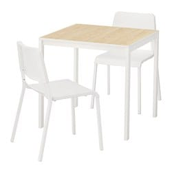 MELLTORP /  TEODORES Table and 2 chairs
