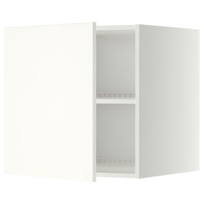 METOD top cabinet for fridge/freezer white/Häggeby white 60.0 cm 61.6 cm 60.0 cm