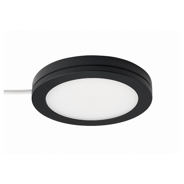 MITTLED LED spotlight, dimmable black