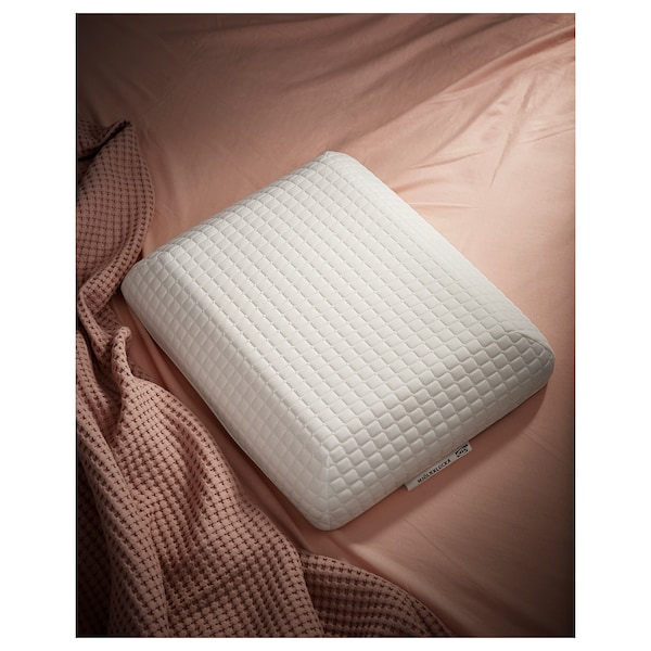 MJÖLKKLOCKA ergonomic pillow, side/back sleeper 41 cm 51 cm 13 cm