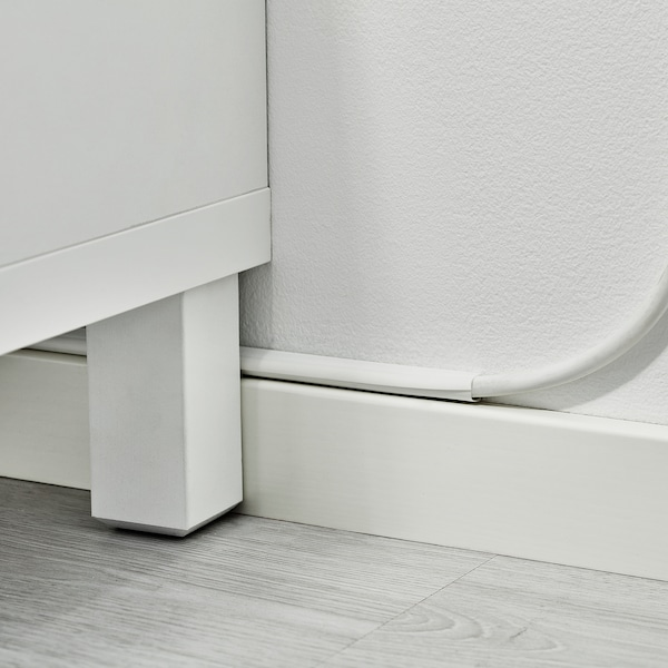MONTERA Cable trunking, white, 1.1 m
