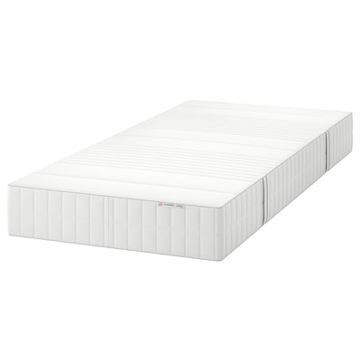 MYRBACKA memory foam mattress firm/white 200 cm 90 cm 24 cm