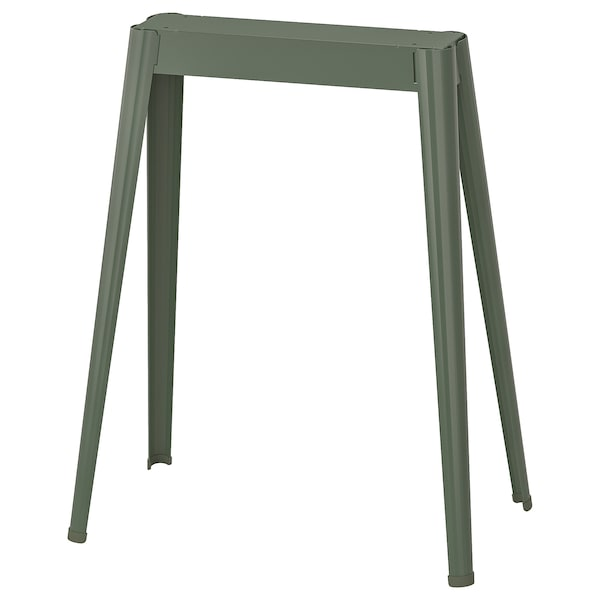 NÄRSPEL Trestle, grey-green metal
