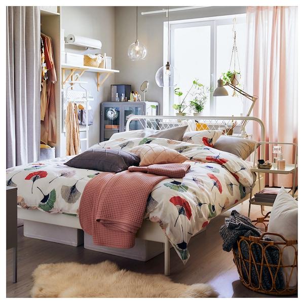 NESTTUN Bed frame, white, 160x200 cm