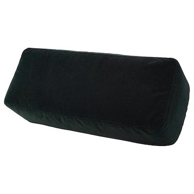 OMTÄNKSAM Armrest cushion, Djuparp dark green, 52x20 cm