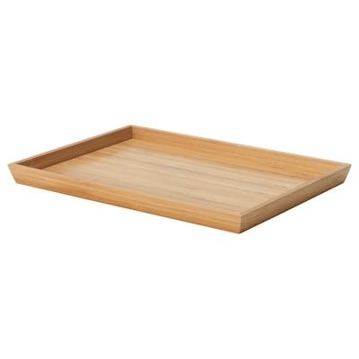 OSTBIT Tray, bamboo, 20x28 cm