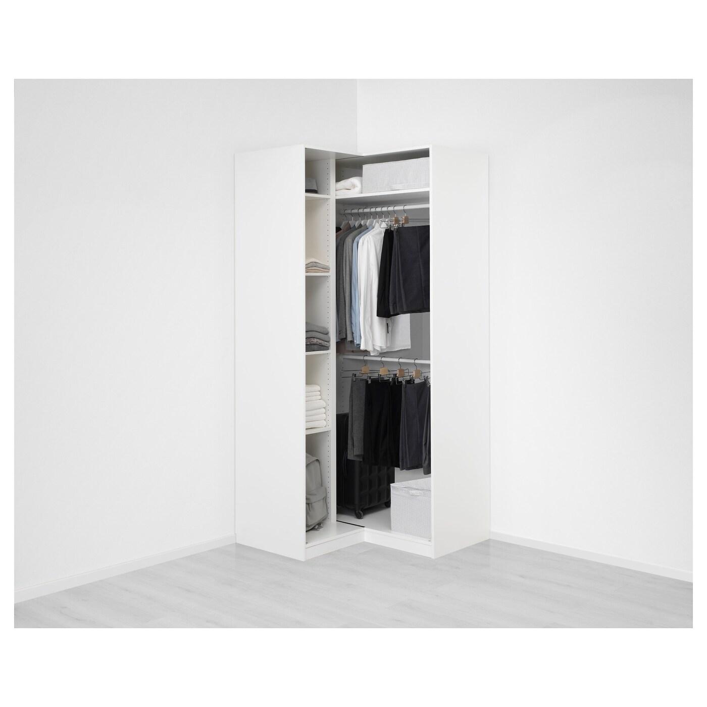 Pax Corner Wardrobe White Grimo White Ikea Switzerland