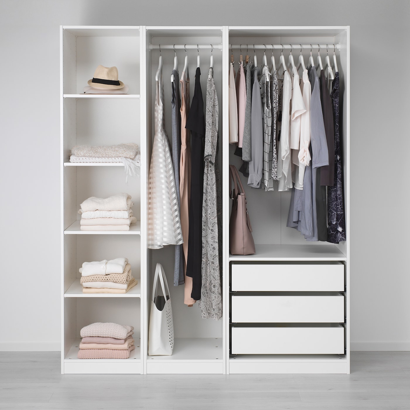 Pax Wardrobe White Ikea Switzerland