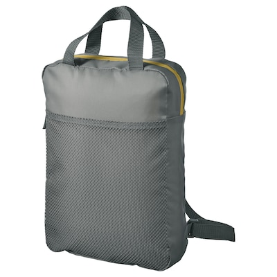 PIVRING Backpack, grey, 9 l