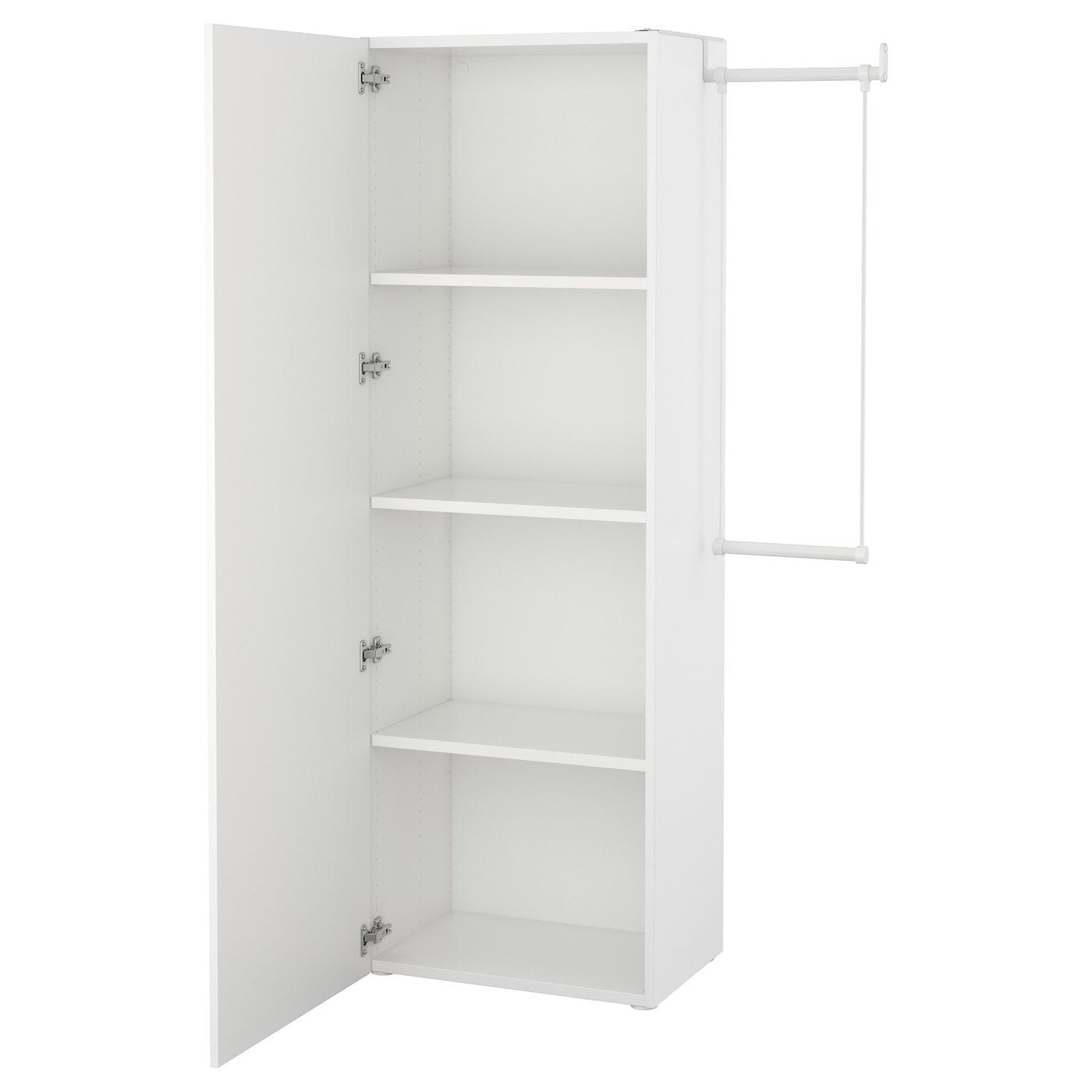 Platsa Wardrobe White Fonnes White Ikea Switzerland