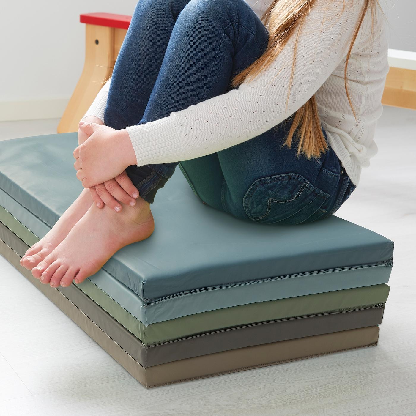 PLUFSIG folding gym mat blue 185 cm 78 cm 3.2 cm