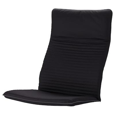 POÄNG armchair cushion Knisa black