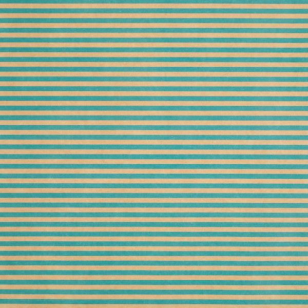 PURKEN Gift wrap roll, green/stripe, 3.0x0.7 m