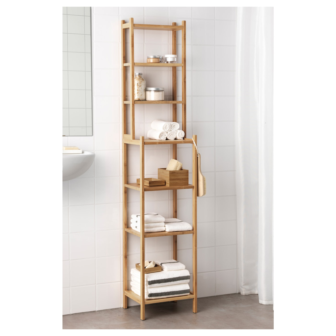 Ragrund Shelving Unit Bamboo Ikea Switzerland