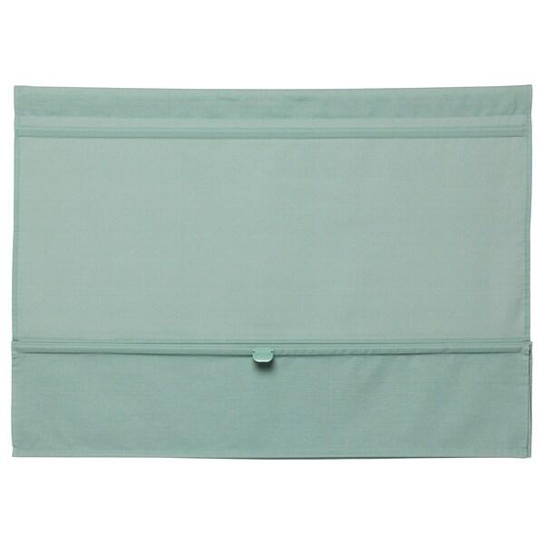 RINGBLOMMA Roman blind, green, 60x160 cm