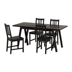 RYGGESTAD/ GREBBESTAD /  STEFAN Table and 4 chairs