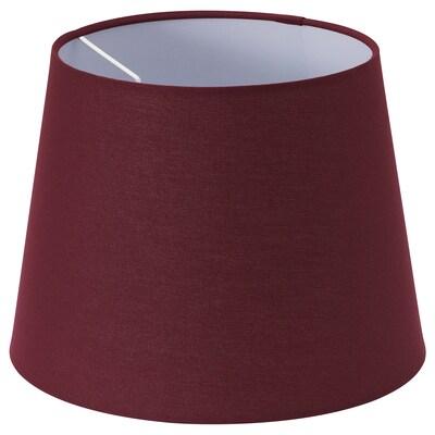 RYRA Lamp shade, wine red, 25 cm