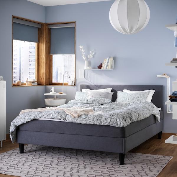 SÄBÖVIK Divan bed, firm/Vissle grey, 160x200 cm