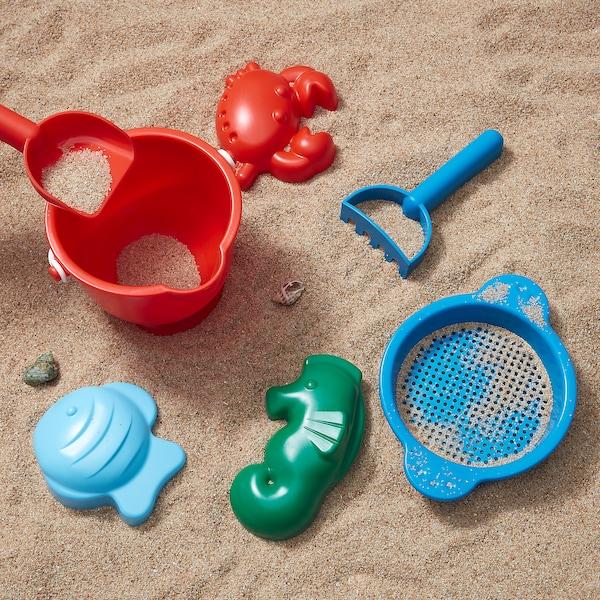 SANDIG 7-piece sand play set