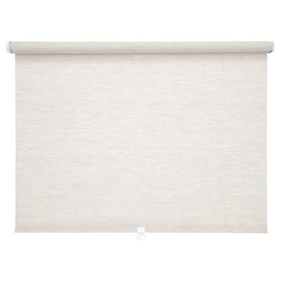 SANDVEDEL Roller blind, beige, 80x195 cm
