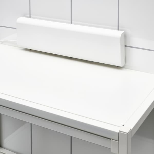 SILVERGLANS LED bathroom lighting strip, dimmable anthracite, 40 cm