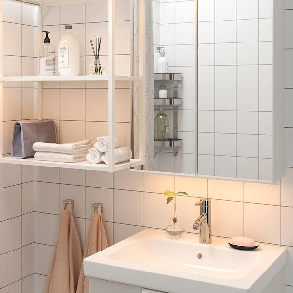 SILVERGLANS LED bathroom lighting strip, dimmable white, 60 cm