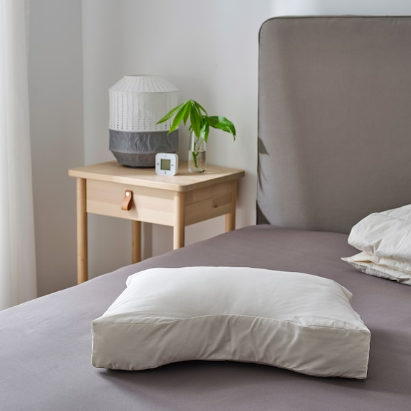 SKOGSLÖK Ergonomic pillow, multi position, 40x55 cm