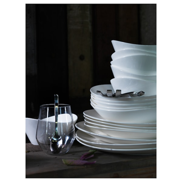 SKYN serving bowl white 8 cm 16 cm