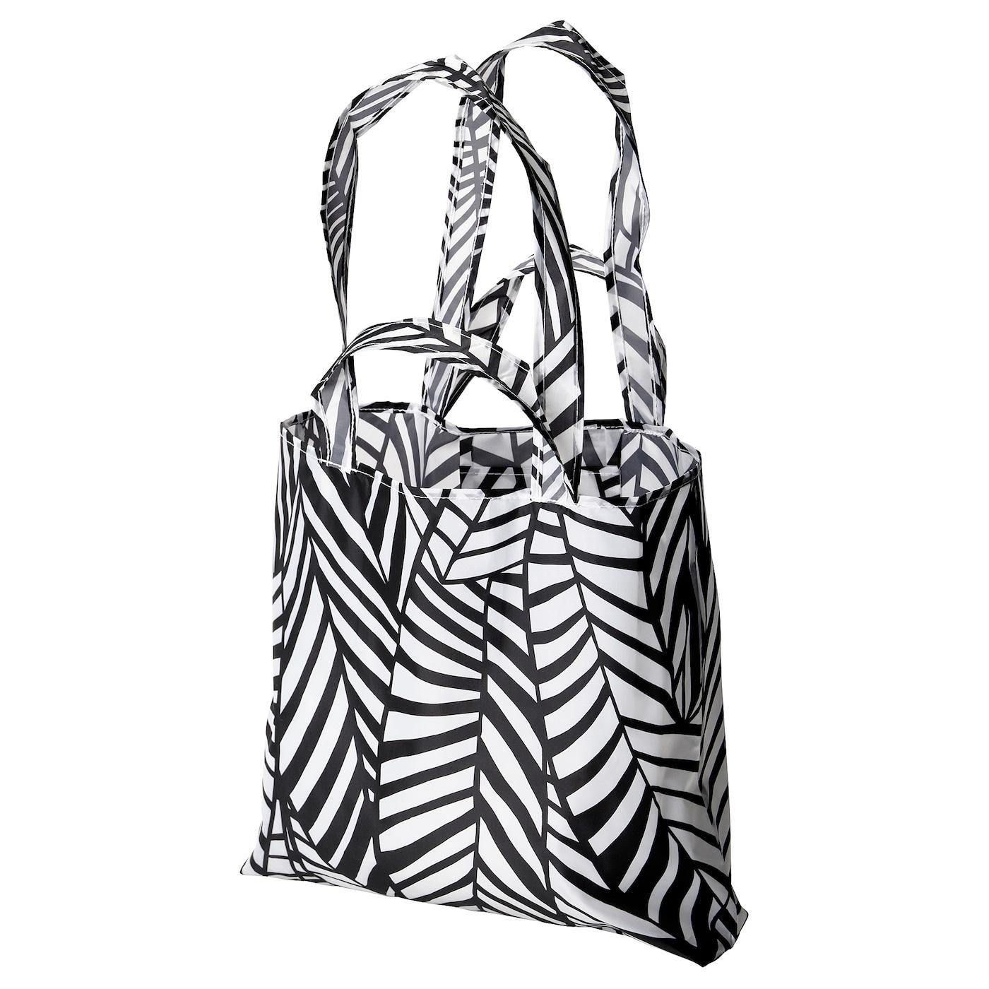 SKYNKE Carrier bag - white/black