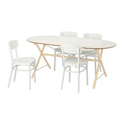 SLÄHULT/ DALSHULT /  IDOLF Table and 4 chairs