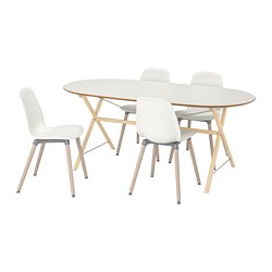 SLÄHULT/ DALSHULT /  LEIFARNE Table and 4 chairs