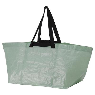 SLUKIS Carrier bag, large, pale green, 71 l
