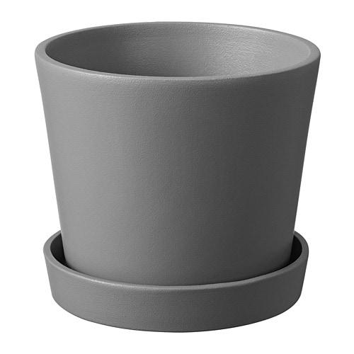 Smulgubbe Plant Pot And Saucer Ikea