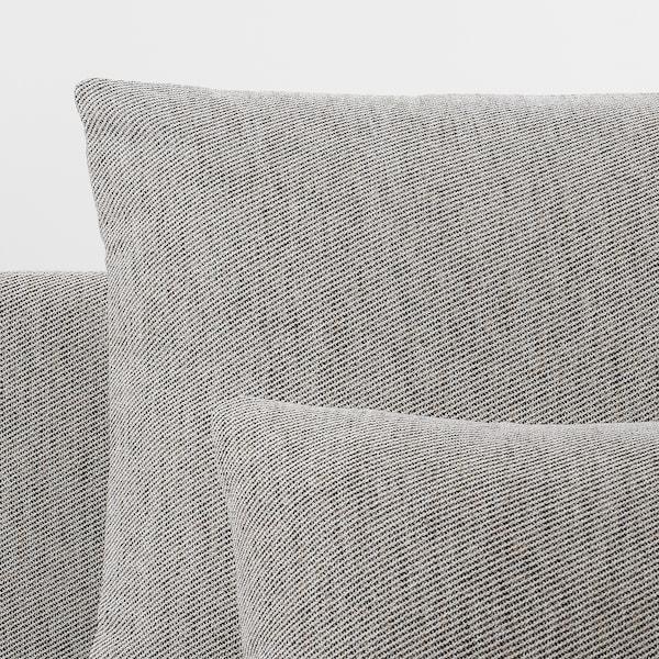 SÖDERHAMN 3-seat sofa, with open end/Viarp beige/brown
