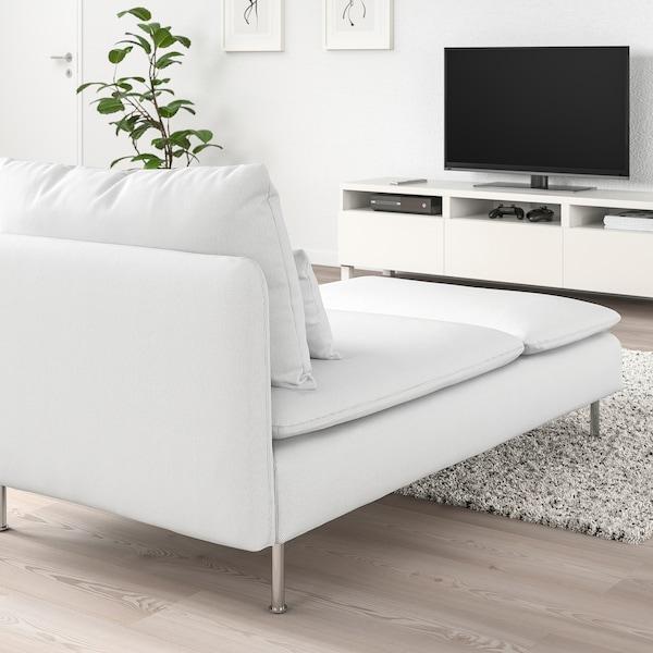 SÖDERHAMN Chaise longue, Finnsta white