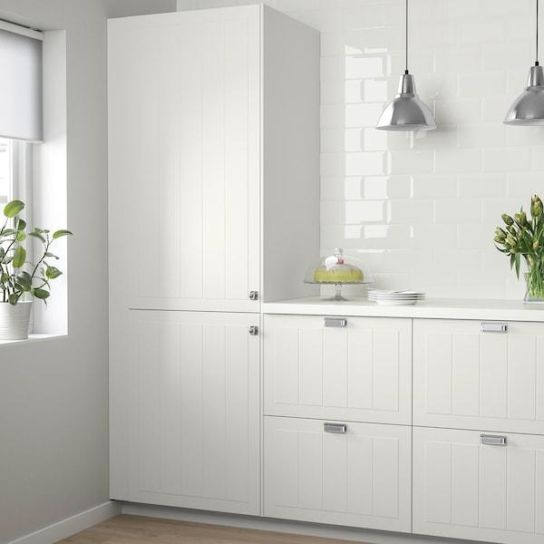 STENSUND Door, white, 60x140 cm