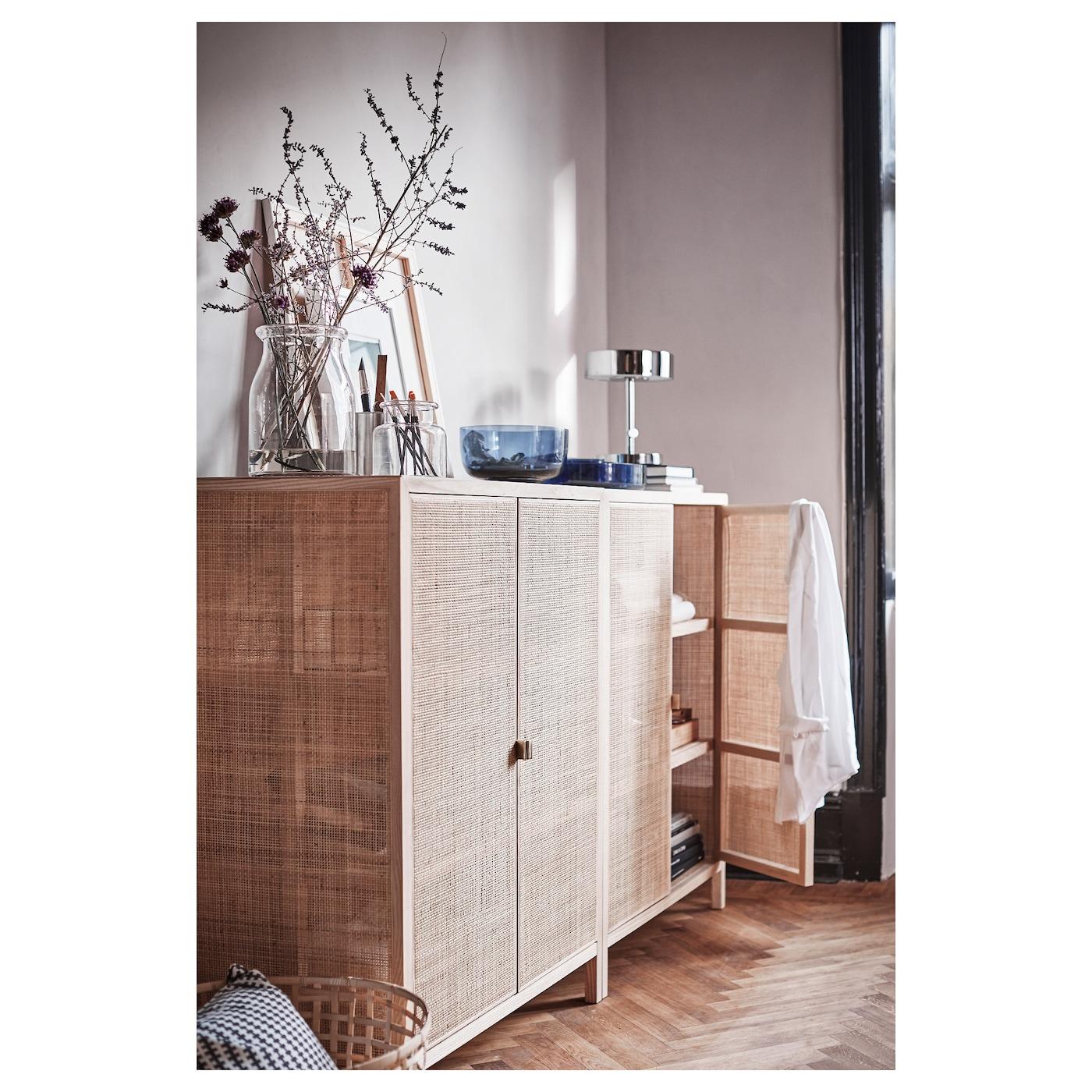 Ikea Mobili In Vimini stockholm 2017 cabinet - rattan, ash