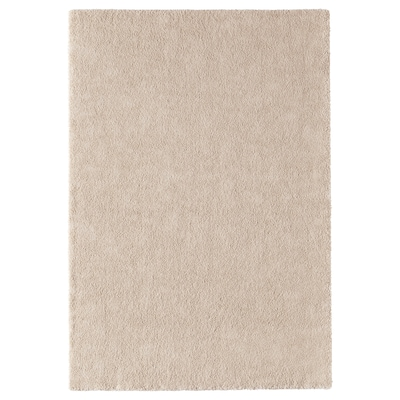 STOENSE rug, low pile off-white 195 cm 133 cm 18 mm 2.59 m² 2560 g/m² 1490 g/m² 15 mm