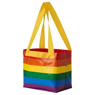 STORSTOMMA Bag, multicolour, 27x27 cm