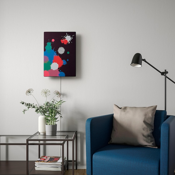 SYMFONISK Panel for picture frame speaker, Splash