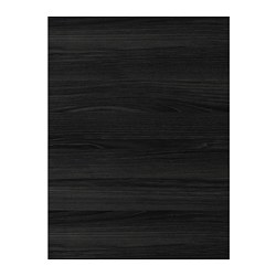 TINGSRYD door, wood effect black