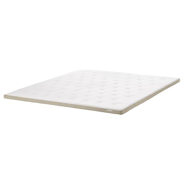 TISTEDAL Mattress pad, natural, 160x200 cm
