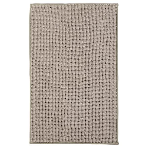 TOFTBO Bath mat, dark beige, 50x80 cm