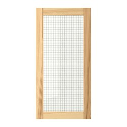 TORHAMN glass door, natural ash