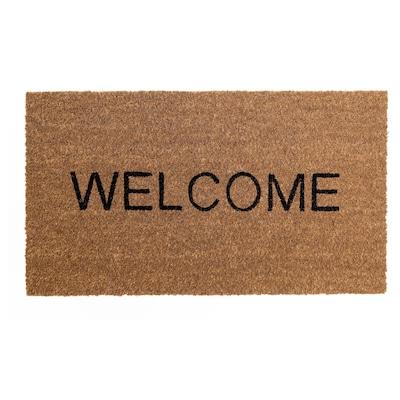 TRIABO Door mat, natural, 40x70 cm