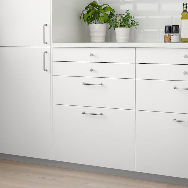 VEDDINGE Drawer front, white, 80x10 cm